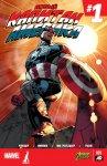 Обложка комикса Новый Капитан Америка