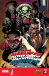 Обложка комикса Новый Капитан Америка №2