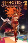 Обложка комикса Ангела: На Службе Асгарда №1