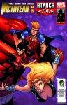 Обложка комикса Мстители против Агентов Атласа №4