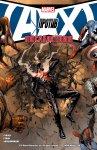 Обложка комикса Мстители против Людей-Икс: Последствия