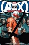 Обложка комикса Мстители против Людей-Икс: Последствия №2