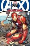 Обложка комикса Мстители против Людей-Икс: Последствия №3
