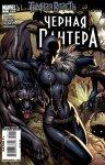 Обложка комикса Черная Пантера №1