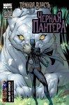 Обложка комикса Черная Пантера №4