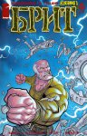 Обложка комикса Брит №6