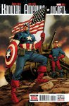 Обложка комикса Капитан Америка: Доблесть №2