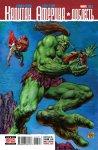 Обложка комикса Капитан Америка: Доблесть №3