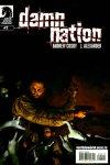 Обложка комикса Проклятая Нация №2