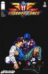 Обложка комикса Силы Свободы №2