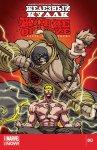 Обложка комикса Железный Кулак: Живое Оружие №3