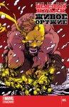 Обложка комикса Железный Кулак: Живое Оружие №5