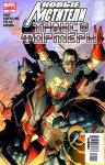 Обложка комикса Новые Мстители / Трансформеры №1