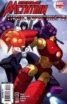 Обложка комикса Новые Мстители / Трансформеры №3