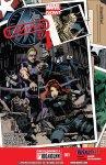 Обложка комикса Тайные Мстители №1