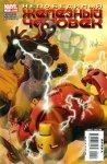 Обложка комикса Непобедимый Железный Человек №4