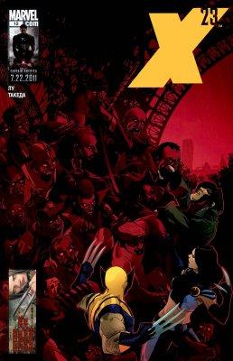Серия комиксов Икс 23 №12