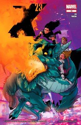 Серия комиксов Икс 23 №18