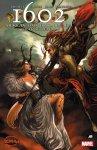 Обложка комикса 1602 Ангела, Охотница На Ведьм №4