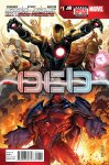 Обложка комикса Мстители и Люди-Икс: Ось №1