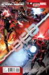 Обложка комикса Мстители и Люди-Икс: Ось №2