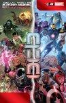 Обложка комикса Мстители и Люди-Икс: Ось №3
