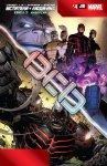 Обложка комикса Мстители и Люди-Икс: Ось №4