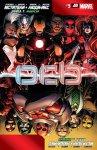 Обложка комикса Мстители и Люди-Икс: Ось №5