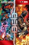 Обложка комикса Мстители и Люди-Икс: Ось №7