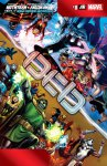 Обложка комикса Мстители и Люди-Икс: Ось №8