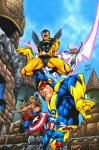 Обложка комикса Мстители Навсегда №7