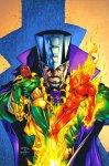 Обложка комикса Мстители Навсегда №8
