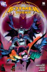 Обложка комикса Бэтмен и Робин №16