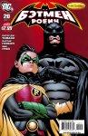 Обложка комикса Бэтмен и Робин №20