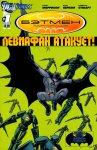 Обложка комикса Бэтмен, Корпорация: Левиафан Атакует