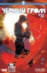 Обложка комикса Черный Гром №12