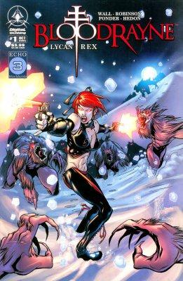 Серия комиксов Бладрейн: Ликан Рекс