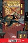Обложка комикса Капитан Марвел №11
