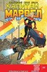 Обложка комикса Капитан Марвел №12