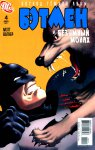 Обложка комикса Восход Тёмной Луны - Бэтмен и Безумный Монах №4