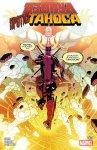 Обложка комикса Дэдпул против Таноса №1