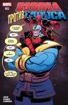Обложка комикса Дэдпул против Таноса №3