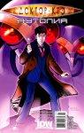 Обложка комикса Доктор Кто: Аутопия