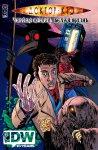 Обложка комикса Доктор Кто: Черная Смерть, Белая Жизнь