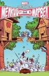 Обложка комикса Гигантский Размер Мелкий против Марвел №3