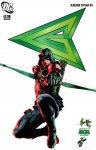 Обложка комикса Зелёная Стрела №8