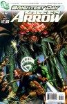 Обложка комикса Зелёная Стрела №10
