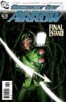 Обложка комикса Зелёная Стрела №11