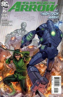 Серия комиксов Зелёная Стрела №15
