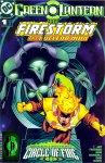 Обложка комикса Зелёный Фонарь / Огненный шторм